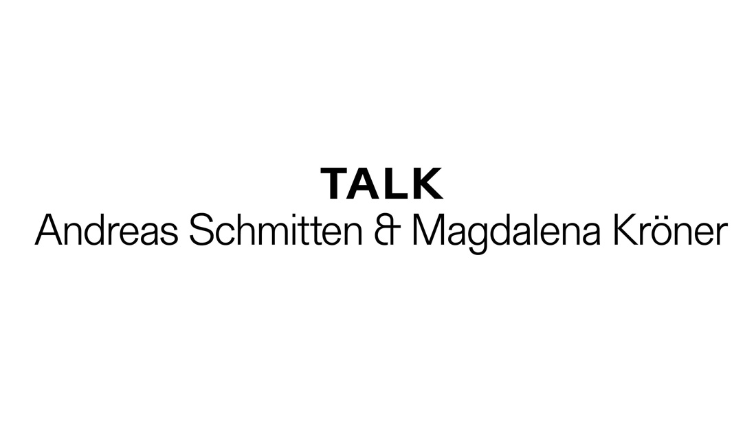 Talk Andreas Schmitten